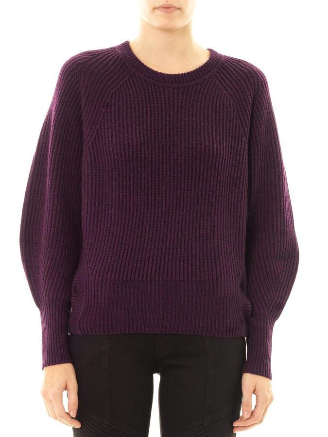 Etoile Isabel Marant Barett ribbed-knit sweater