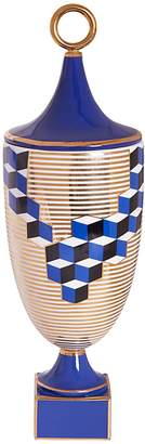 Jonathan Adler Versailles Cube Porcelain Urn