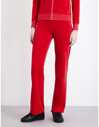 Juicy Couture Maravista velour jogging bottoms $158 thestylecure.com