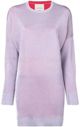 Laneus knitted mini dress