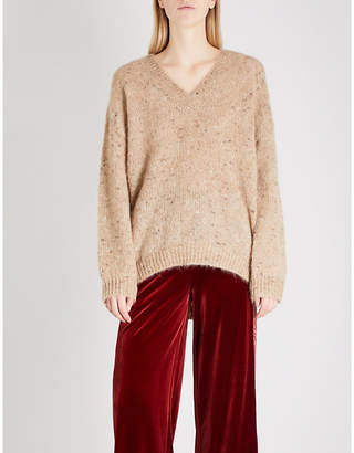Mo&Co. Heather knitted jumper