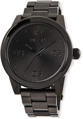 Nixon 36mm G.I. Bracelet Watch, Black