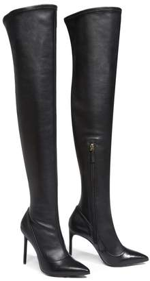 Alice + Olivia Clayvee Leather Boot
