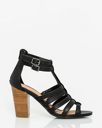 Le Château Leather-Like Gladiator Sandal