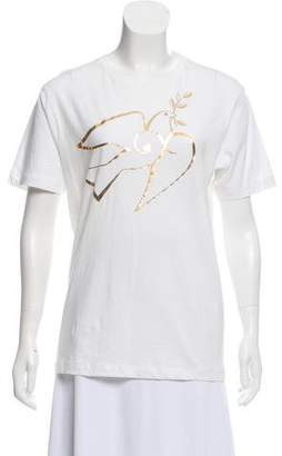 Alexis Mabille Printed Short Sleeve T-Shirt