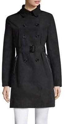 Jane Post Techno Trench Coat