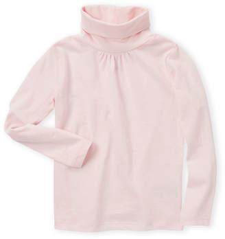 French Toast (Toddler Girls) Pink Long Sleeve Turtleneck