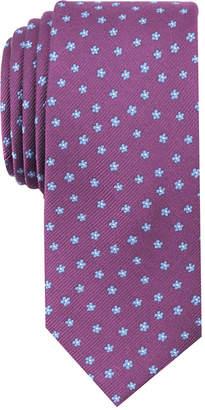 Bar III Men's Mini Floral Skinny Tie