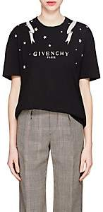 Givenchy Women's Logo Cotton T-Shirt - Black