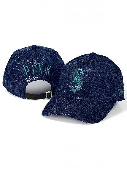 Victoria's Secret PINK Major League Baseball® Bling Baseball Hat