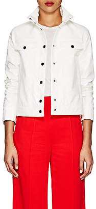 Lisa Perry Women's Snazzy Vinyl Jacket - White
