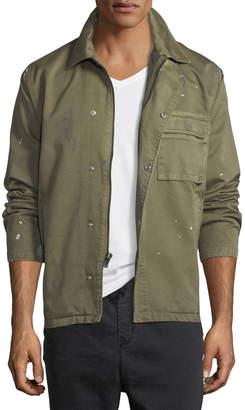 Hudson Men's Twill Military Jacket