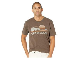 Life is Good Guitar Sun Crusher Tee
