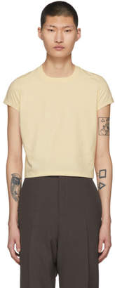 Rick Owens Off-White Short Level T-Shirt