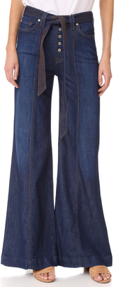 7 For All Mankind Wide Leg Lounge Pants $199 thestylecure.com