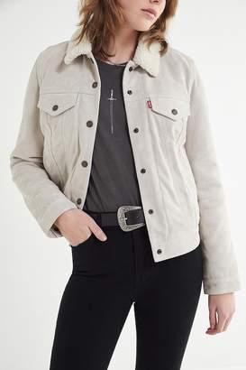 Levi's Levi's Suede Sherpa Trucker Jacket