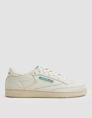 dac05150f22c Reebok Club C 85 Sneaker in Chalk Green