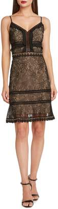 Willow & Clay Lace & Grommet Trim Dress