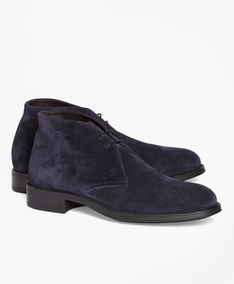 Brooks Brothers 1818 Footwear Suede Chukka Boots