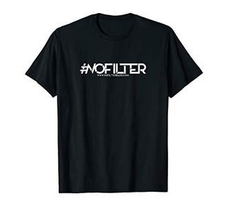 #NoFilter Band T-Shirt Mens Ladies Youth