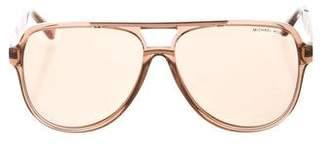 Michael Kors Clementine II Oversize Sunglasses