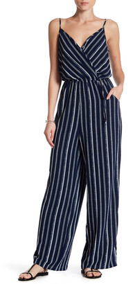 Bobeau Striped Sleeveless Jumpsuit $78 thestylecure.com