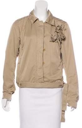 Prada Sport Appliqué Casual Jacket