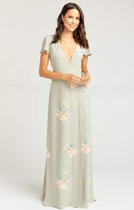 Show Me Your Mumu Noelle Wrap Dress ~ Lily Showers