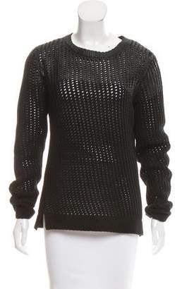 Edun Open Knit Wool Sweater