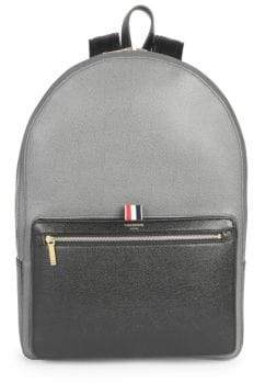 Thom Browne Unstructured Leather Backpack