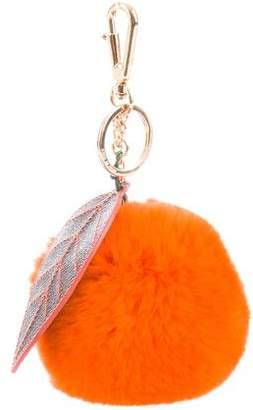 Dolce & Gabbana Pom-Pom Fur Bag Charm
