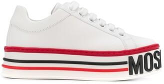Moschino platform logo sneakers