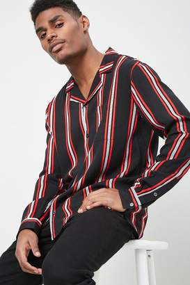 Forever 21 Multicolor Striped Shirt