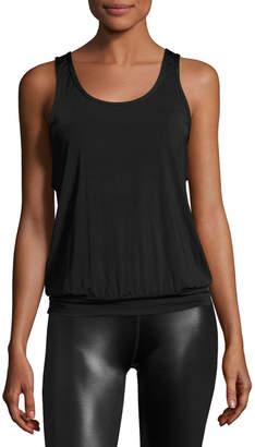 Beyond Yoga Sleek Stripe Breezy Sports Tank Top, Black