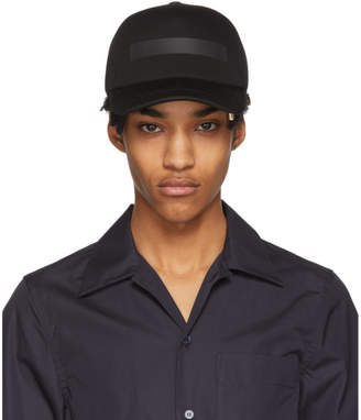 Neil Barrett Black Tape Cap