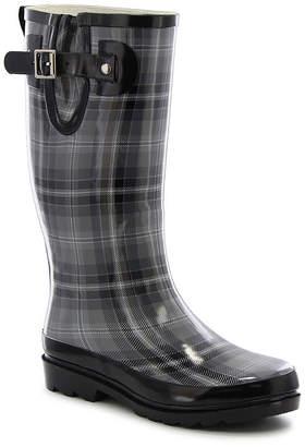 Western Chief Womens City Solid Mid Rain Boots Waterproof Flat Heel Pull-on