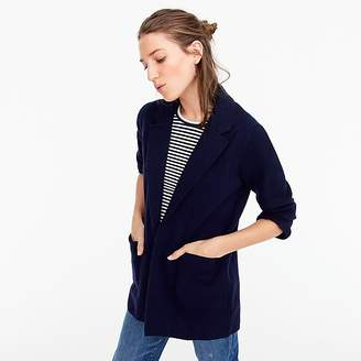J.Crew Open-front sweater-blazer