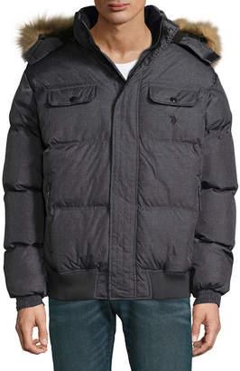 U.S. Polo Assn. USPA Midweight Puffer Jacket