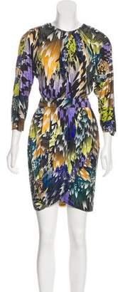 Matthew Williamson Printed Silk Dress