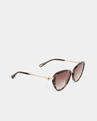 Ted Baker MARLLA Knotted bow sunglasses