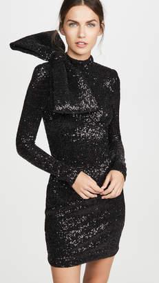 Rebecca Vallance Mica Long Sleeve Sequin Mini