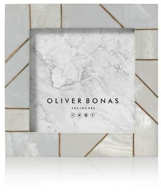 Oliver Bonas Modena Gold Block Frame 4x4