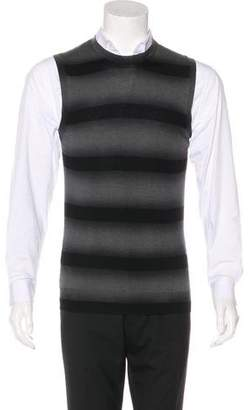 Burberry Striped Sweater Vest