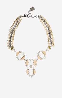 BCBGMAXAZRIA Deco Stone Necklace