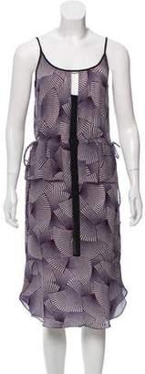 A.L.C. Silk Midi Dress