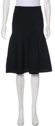 Cushnie et Ochs Knee-Length Knit Skirt w/ Tags