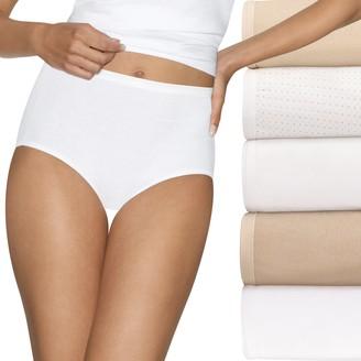 Hanes Ultimate 5-pk. Ultra Soft Cotton Comfort Briefs 40HUCC