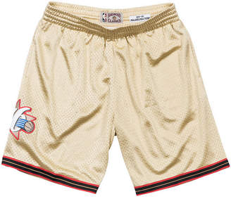 Mitchell & Ness Men's Philadelphia 76ers Gold Collection Swingman Shorts