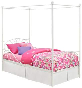 DHP Generic Canopy Metal Bed, Multiple Sizes, Multiple Colors
