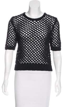 Alexander Wang Bateau Neck Knit Sweater